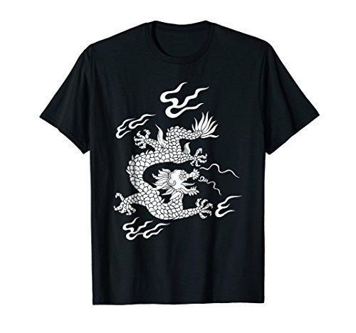 (Chinese Dragon T-Shirt China Cultural shirt tee top)