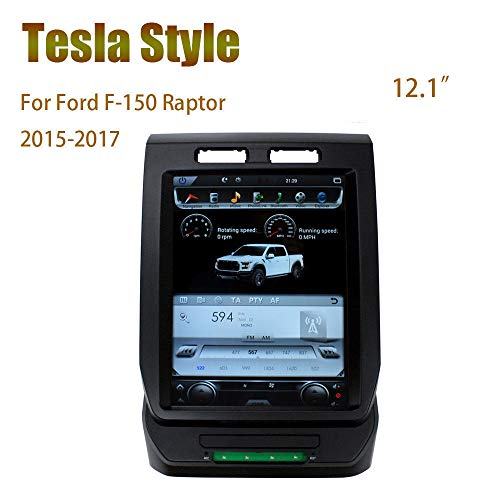 Fidgetfidget Car Gps Navigation Stereo Radios 12 1 Android For Ford F 150 Raptor 2015 2017