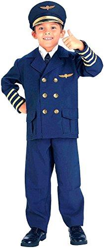 Forum Novelties Kids Airline Pilot Costume, (Airline Pilot Costume For Kids)