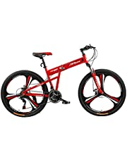فتنس مينتس دراجة قابلة للطي، FM-F26-03M-RD