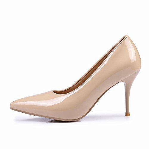 Sur Haut Bout Fourreau Talon Pointu De Stiletto Chaussures Et Nude Mee Escarpins Chic nxfwqvgWX