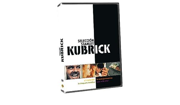 Pack: Stanley Kubrick Eyes Wide Shut/ La Chaqueta Metálica/ La Naranja Mecánica/ El Resplandor DVD: Amazon.es: Tom Cruise, Nicole Kidman, Todd Field, Matthew Modine, R. Lee Ermey, Vincent DOnofrio, Malcolm McDowell, Patrick