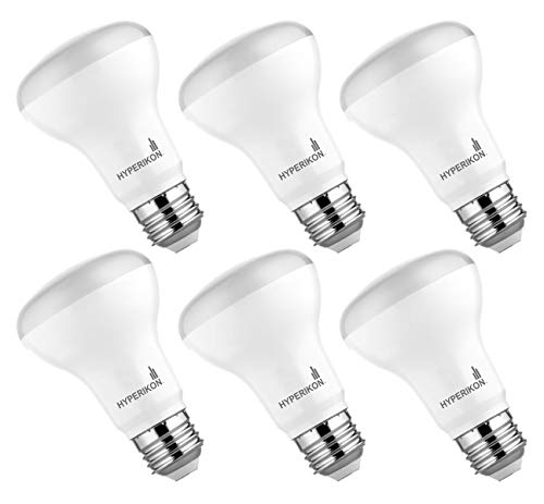 Hyperikon Vantage BR20 LED Bulb Dimmable 7W (50W Equivalent), 3000K (Soft White Glow), 520 lumens, Indoor Outdoor Use, UL & Energy Star - Perfect for Kitchen, Office, Living Room (6 Pack) by Hyperikon