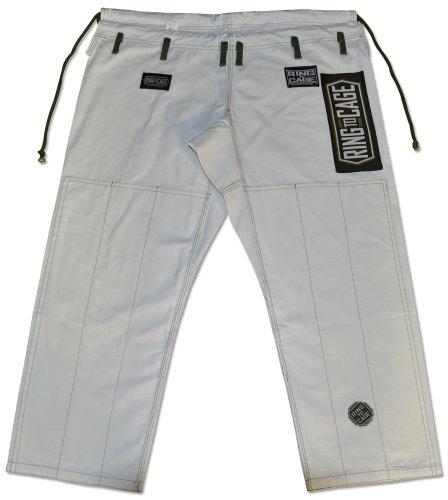 Rip Stop Gi Pant - White-A1 (Cage Pants)