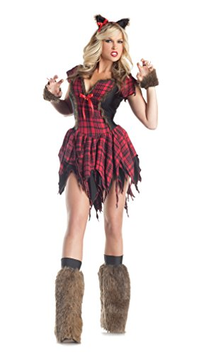 Wolf Sexy Costumes (Werewolf Adult Costume - Large)