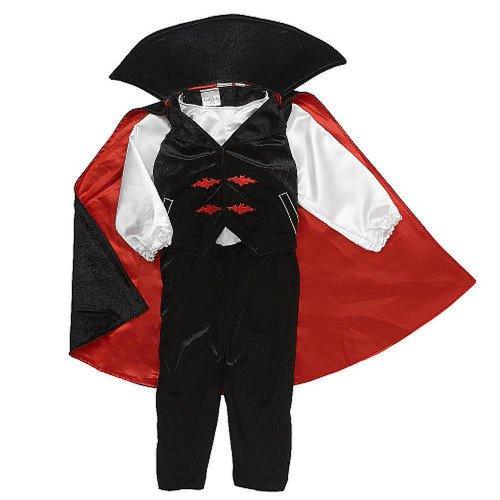 [Koala Kids Boys' Dracula Vampire Costume - Size 3M] (Toddler Vampire Halloween Costumes)
