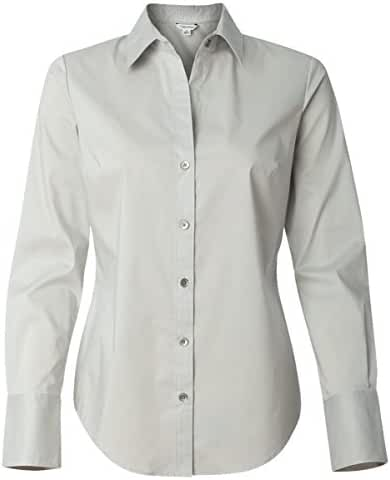 Calvin Klein - Women's Cotton Stretch Shirt - 13CK018