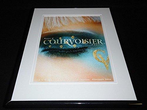 2002-house-of-courvoisier-cognac-11x14-framed-original-advertisement
