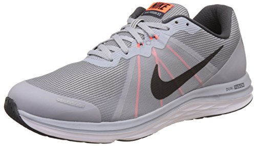 Nike Dual Fusion X 2, Zapatillas de Running para Hombre Gris (Wlf Grey / Blk-Anthrct-Ttl Crmsn)