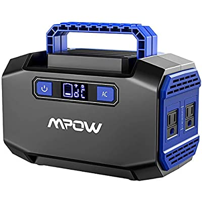 OMORC Mpow 167Wh Portable Power Station, 45000mAh Lithium Battery Backup with Dual AC Outlets (250W Peak),2 USB Ports,3 DC Ports, Emergency Rechargeable Solar Power Generators