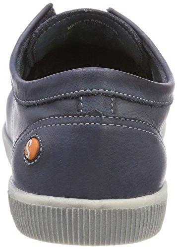 Softinos Herren Tom Washed Sneaker Blau (navy 534)