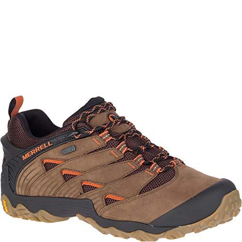Merrell Men's Chameleon 7 Waterproof Hiking Shoe, Dark Earth, 10.5 M US