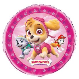 Unique Industries, Paw Patrol Girl Round Foil Balloon 18