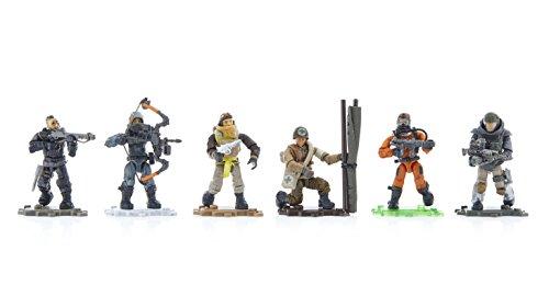 Mega Construx Call of Duty Bundle of 6 Figures (Call Of Duty Modern Warfare 2 Soap)