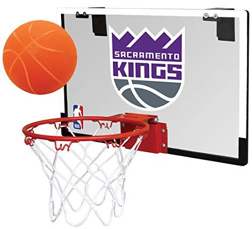- NBA Sacramento Kings Game On Indoor Basketball Hoop & Ball Set, Large, Purple