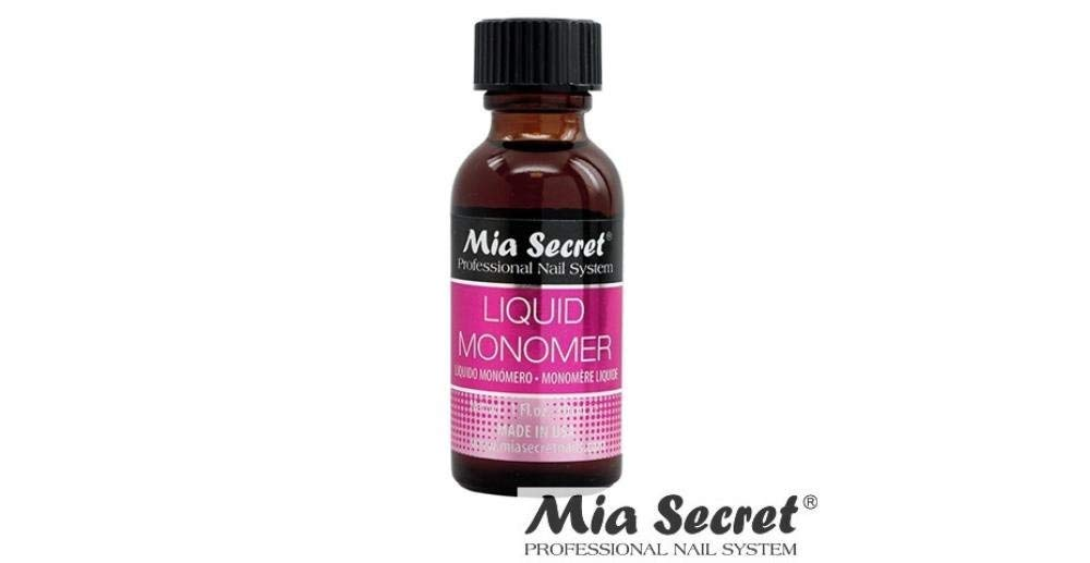 Mia Secret Peofessional Acrylic Nail System Liquid Monomor 1 oz