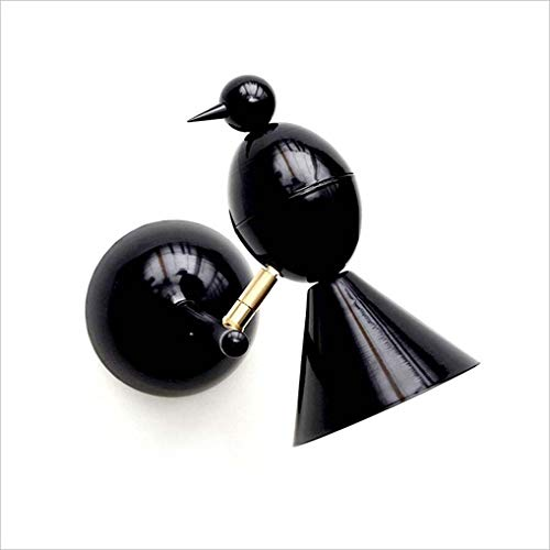 HYJHDD Niños pájaro Forma lámpara de Pared Dormitorio cabecero Pared Pasillo iluminación Interior Creativo,Black