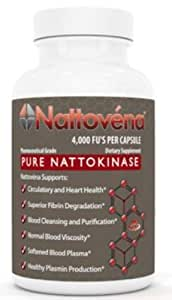 Arthur Andrew Medical Nattovena Nutritional Capsules, 30 Count