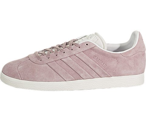 adidas Womens Originals Gazelle Stitch and Turn (7.5 B(M) US) Pink (Adidas Women Shoes Gazelle)