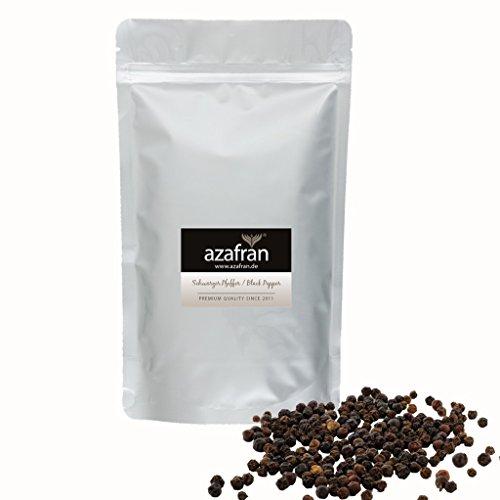 Azafran BIO Pfeffer (Pfefferkörner ganz) Pfeffermühlen geeignet schwarz 250g