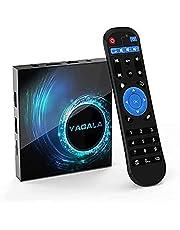 TV Box, 2 GB RAM / 16 GB ROM Android 10.0 TV-box, Allwinner H616 Quad-Core met 2,4 GHz WLAN/Ethernet TV-box
