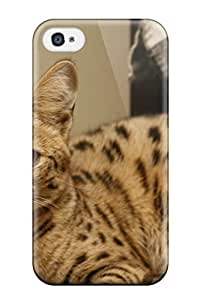 David Dietrich Jordan's Shop Hot New Style Hard Case Cover For Iphone 4/4s- Savannah Cats 2621523K47335172