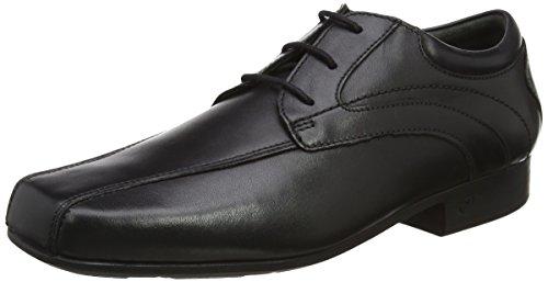 Garçon Ado Rhino fois G Coupe dentelle noire jusqu'à l'école chaussures