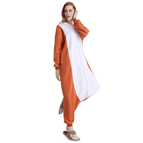Sunrise Unisex Adult Squirrel Pajama Halloween Onesie Costume (X-Large) (Plus Size Squirrel Costume)