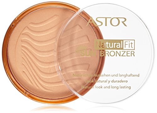 Astor Natural Fit Bronzer, Farbe 3 Terra Sun, 1er Pack (1 x 14 g)