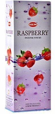 Hem 6 Pack 20 Stick Raspberry - Box Of Six 20 Stick Tubes, 120 Sticks Total - Hem Incense by Hem 6 Pack 20 Stick