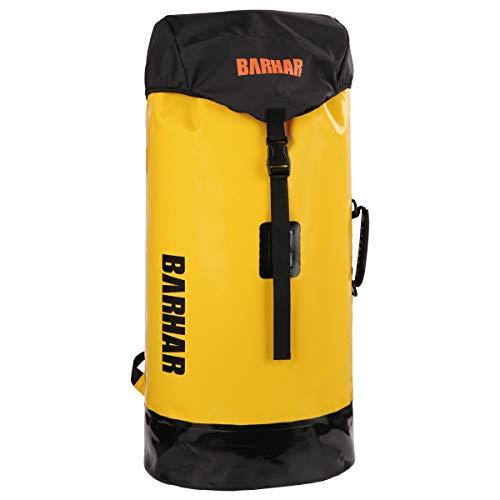 BARHAR 45L Large Capacity Caving Pack PVC Material Durable Climbing Rope Backpack