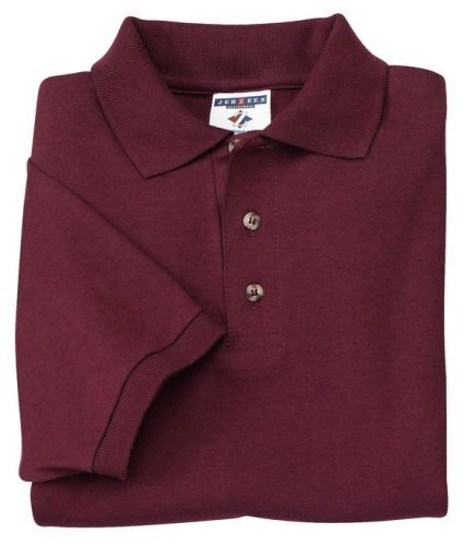 Jerzees 6 oz Jersey Knit Sport Shirt (J100) Available in 8 Colors X-Large True Red