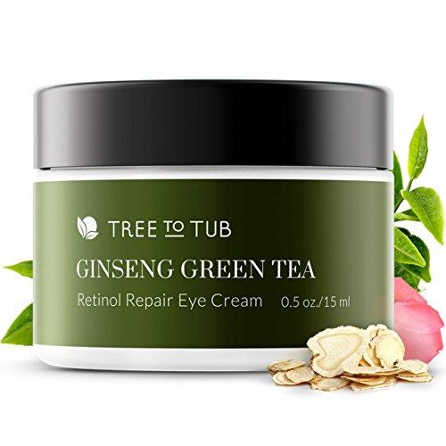 Gentle Retinol Eye Cream for Sensitive Skin. The Only pH 5.5 Anti Aging Eye Cream For Wrinkle Repair, Eye Bags and...