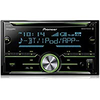 Pioneer Double DIN Car Receiver With Bluetooth