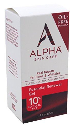 Essential Renewal Gel 10% Glycolic AHA 50 ml pH 4 Oil Free b