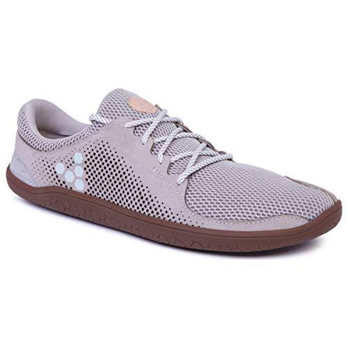 Vivobarefoot Primus Trio Men's Everyday Trainer Shoe Running, Grey, 48 D EU (14 US)