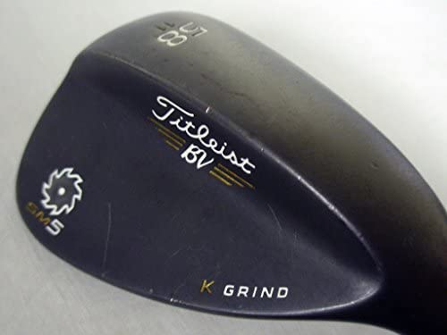 Amazon.com: Titleist vokey SM5 Lob wedge 58 11 (Raw Black, K ...