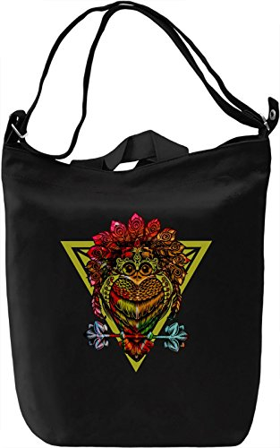King Bird Of Paradise Borsa Giornaliera Canvas Canvas Day Bag| 100% Premium Cotton Canvas| DTG Printing|