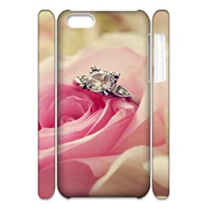 3D Love 64 IPhone 5C Case, Design Protective Case Phone Case for Iphone 5c for Men Okaycosama {White}