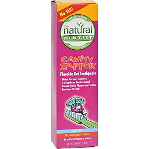 Natural Dentist Cavity Zapper Anticavity Gel Toothpaste Berry Blast - 5 oz (Dycal Cement)