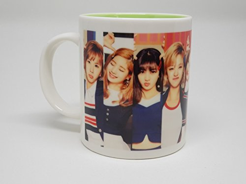 TWICE Signal Coffee Mug Cup Ceramic (Link Insta)