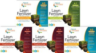 Natural & Organic-Based Lawn Fertilizer Warm Season - For Bermuda, St. Augustine and Zoysia Lawns (80025)