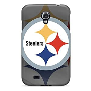 Defender Case With Nice Appearance (pittsburgh Steelers) For Galaxy S4