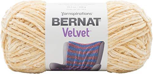 (Bernat Velvet Yarn, 10.5 oz, Soft Sunshine, 1 Ball)