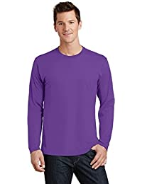 Men's 100% Ring Spun Long Sleeve Cotton Fan Favorite Tee