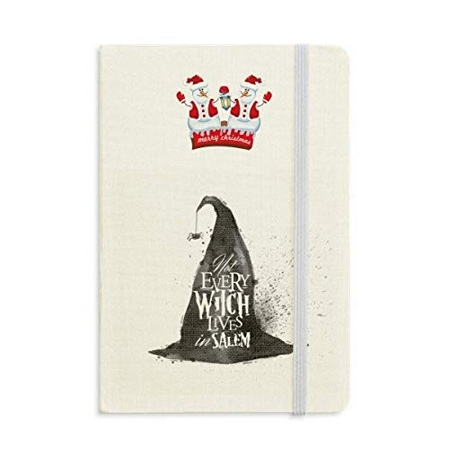 Ink Effect Wizard Hat Halloween Witch Christmas Snowman Notebook Thick Hardcover]()