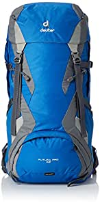 Deuter Futura Pro 42 Mochila de Montaña, Unisex Adulto, Azul, Gris, 42 l