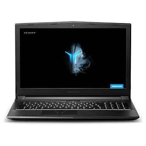 chollos oferta descuentos barato MEDION ERAZER P6705 Portátil gaming 15 6 FullHD Intel Core i5 8300H 8GB RAM 1TB HDD 128GB SSD Nvidia GTX1050Ti 4GB Sin Sistema Operativo negro Teclado QWERTY Español
