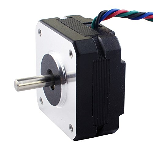 0.9deg Nema 17 Stepper Motor Bipolar 1.2A 11Ncm/15.6oz.in 42x42x20mm 4-wires