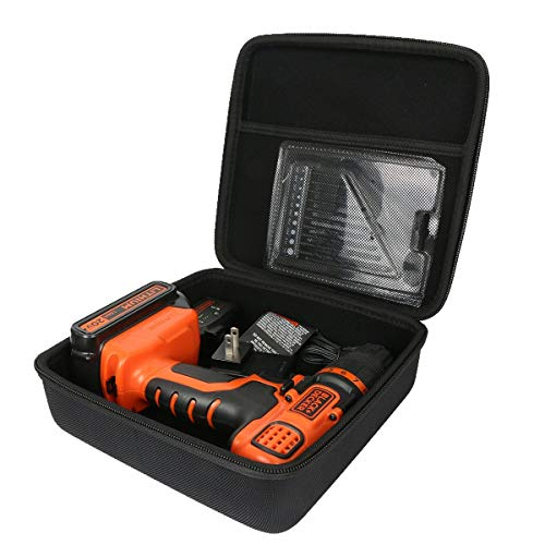 Hard Case For Black Decker Cover Shockproof Drill Driver Lit